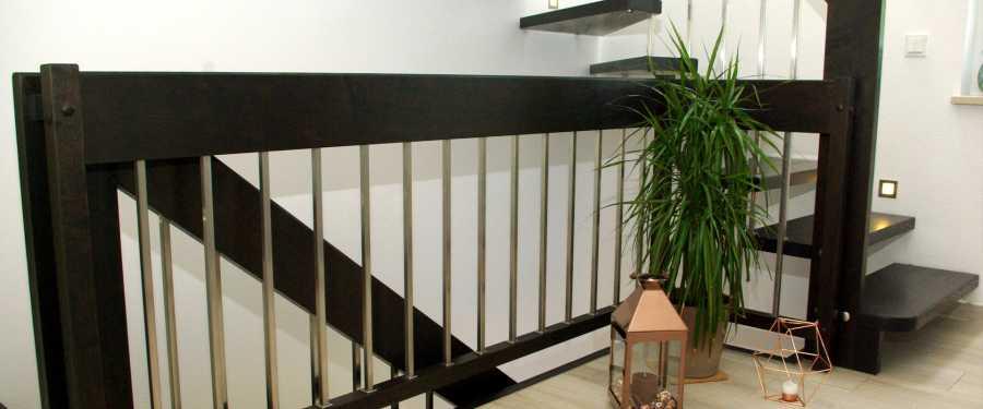 Kompetenz von der ersten Idee bis  zur Fertigstellung der Treppe